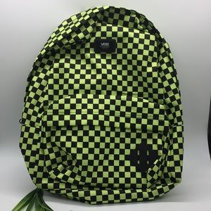 Vans Off The Wall checkerboard Backpack